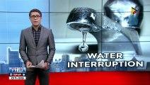 Ilang lugar sa Caloocan at QC, apektado ng water interruption