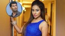 Sri Reddy Sensational Comments On Hero Vishal || Filmibeat Telugu