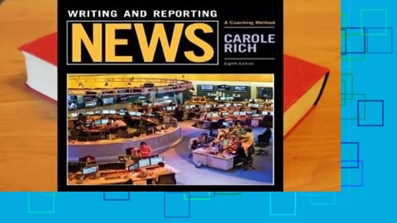 R.E.A.D Writing and Reporting News: A Coaching Method D.O.W.N.L.O.A.D
