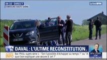 Les parents et la sœur d'Alexia Daval sont arrivés sur les lieux de la reconstitution