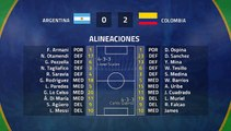 Resumen partido entre Argentina y Colombia Jornada 1 Copa América