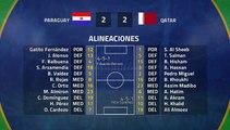 Resumen partido entre Paraguay y Qatar Jornada 1 Copa América