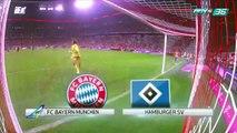 ไฮไลท์ แมตช์ Bayern Munich VS Hamburger SV (1/4)