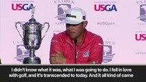 (Subtitled) 'I'm pretty good' New US Open champion Gary Woodland