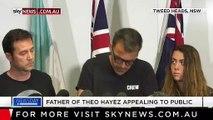 Le père d'un jeune Belge mystérieusement disparu en Australie craque en direct à la télé en demandant de l'aide pour retrouver son fils - VIDEO