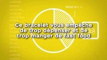 Ce bracelet vous empêche  de trop dépenser et de  trop manger de fast food !