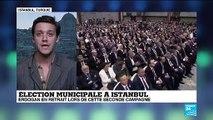 Erdogan s'est montré en retrait lors du débat télévisé organisé à une semaine du nouveau scrutin