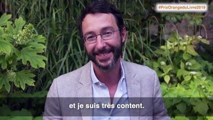 Interview de Jean-Baptiste Maudet, lauréat du Prix Orange du Livre 2019 pour Matador Yankee - lecteurs.com
