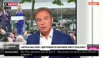 """Morandini Live - L'hommage de Laeticia Hallyday à Johnny, un """"coup de com'"""" ? (vidéo)"""