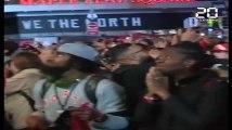 NBA: Des scènes de liesse à Toronto pour la première victoire d'une équipe canadienne