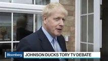 Boris Johnson Skips Tory Debate as Rivals Argue Over Brexit