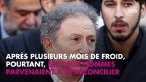 Michel Drucker réconcilié avec Laurent Delahousse, il regrette leur brouille