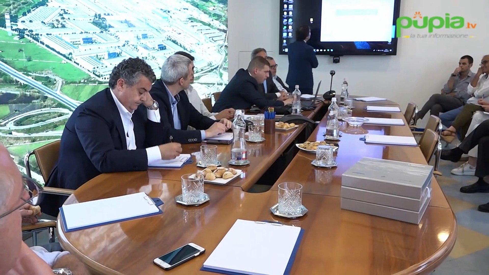 Nola (NA) - Delegazione serba in visita al Cis-Interporto (16.06.19)