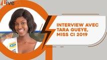 Tara Gueye, Miss Côte d'Ivoire 2019 se confie à Live.ci