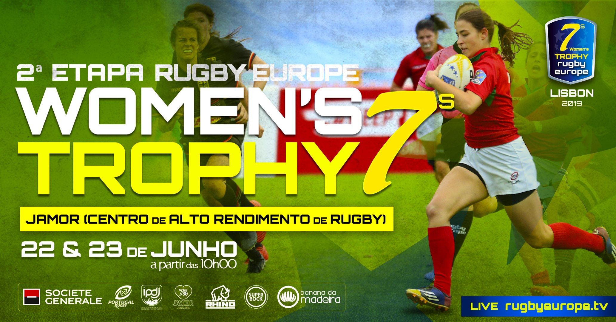 RUGBY EUROPE WOMEN 7S TROPHY 2019 - LEG 2 - LISBON