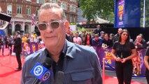 Tom Hanks 'bows his head' to the Pixar geniuses behind 'Toy Story 4'