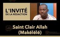 L'invité de la rédaction : Saint Clair  Allah (Makélélé)  Secrétaire Général de la  FESCI
