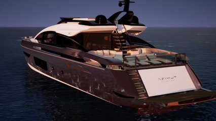 NEW Azimut Grande S10 presentation Design