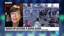 """Hong-Kong : """"1/3 de la population est dans la rue pour réclamer la démission de Carrie Lam"""""""