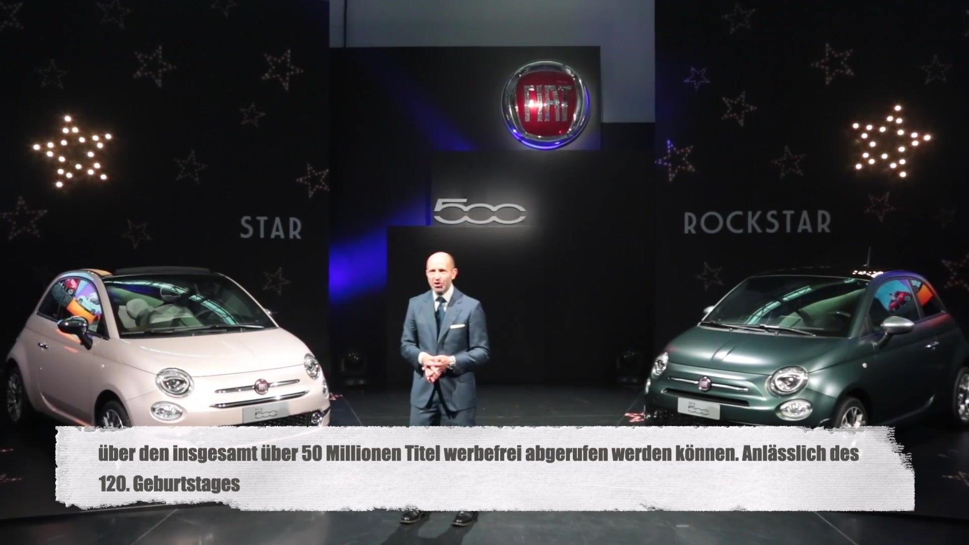 Fiat werbung neue musik Fiat 500S