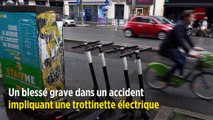 Lyon : un blessé grave dans un accident de trottinette électrique