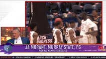 Ja Morant Picked By Memphis Second Overall