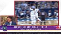 Jarrett Culver Picked Sixth By Minnesota