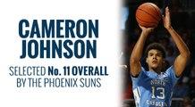 Suns select Cameron Johnson in 2019 NBA Draft