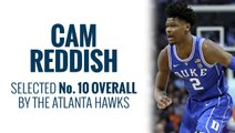 Hawks select Cam Reddish in 2019 NBA Draft