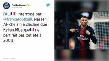 PSG. Nasser Al-Khelaïfi sur Mbappé: «Je ne lâcherai pas ce joueur dingue»