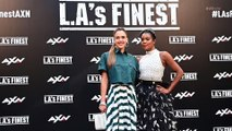 """Right Now: Jessica Alba and Gabrielle Union at """"L.A.'S Finest"""" photocall"""
