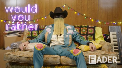 Masked country king Orville Peck would like his own version of The Bachelor
