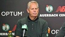 After Anthony Davis Miss, Celtics' Danny Ainge Faces Questions