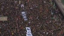 Nouvelle manifestation géante en faveur des droits humains à Hong Kong