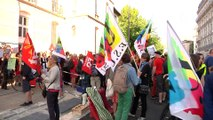 Reportage - Une manifestation contre la réforme Blanquer le jour du BAC