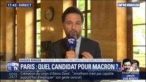 """Investiture LaREM aux municipales à Paris: Hugues Renson, affirme que """"personne n'a parlé de primaire"""""""