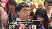 """""""Nous demandons le retrait total de cette loi diabolique"""" : à Hong Kong, deux millions de manifestants déferlent contre les autorités"""