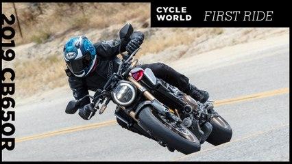 2019 Honda Cb650R First Ride