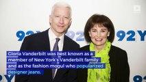 Fashion Icon Gloria Vanderbilt Dead at 95