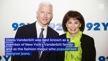 Fashion Icon Gloria Vanderbilt Dead at 95