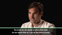 'I'm to grass what Rafa is to clay'- Federer ahead of Wimbledon