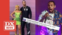 Chris Brown Thunderstorms Shade Onto Karrueche & Victor Cruz's Instagram Bae Pic