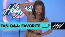Ella Gross' Favorites! Fan Q&A