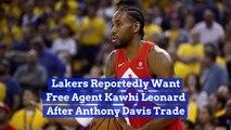 LA Wants To See Kawhi Leonard In A Lakers Jersey
