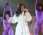 Cardi B Performs in Bathrobe at Bonnaroo After Wardrobe Malfunction