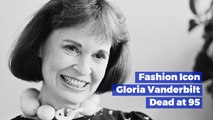 Gloria Vanderbilt Has Passed Away