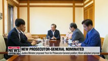 Moon picks Yoon Seok-yeol to lead Korea's prosecution