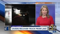 Truck pulled out of Lake Pleasant after child hits gear shifter