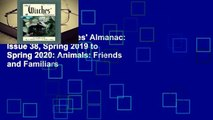 R.E.A.D The Witches' Almanac: Issue 38, Spring 2019 to Spring 2020: Animals: Friends and Familiars