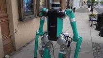 フォード:2足歩行の宅配ロボット導入